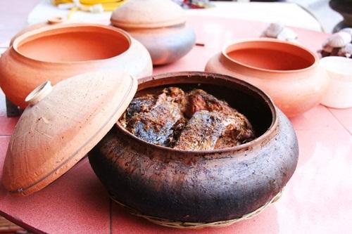 Cá kho cổ truyền làng Vũ Đại Hà NamCá kho cổ truyền làng Vũ Đại Hà Nam