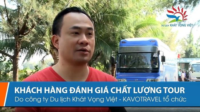 Khách hàng đánh giá về Du lịch Khát Vọng Việt