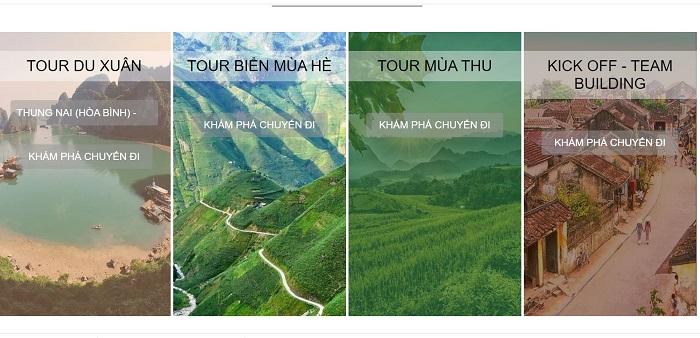 Thiết kế tour rất đặc biệt của Viet Unique Tour
