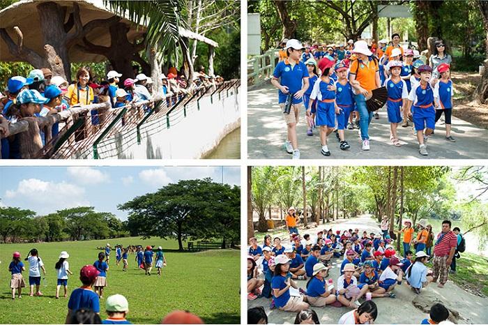 Tổ chức tour du lịch cho lớp