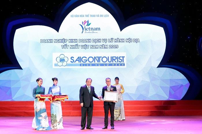 Saigontourist được công nhận là Công ty lữ hành nội địa hàng đầu Việt Nam