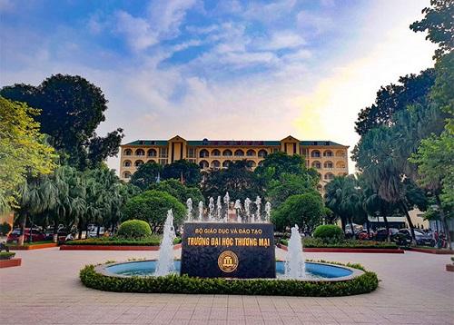 Đại học Thương mại gây ấn tượng cho nhiều sinh viên bởi khuôn viên đẹp nhất trong các trường kinh tế ở Hà Nội