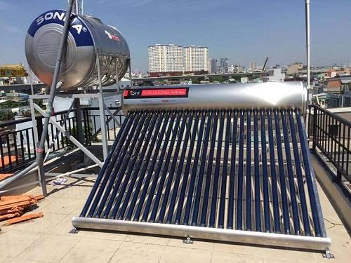 Bình năng lượng mặt trời Sơn Hà