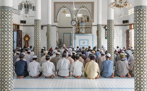 Một thánh đường đạo Hồi nơi diễn ra các nghi lễ thánh quan trọng