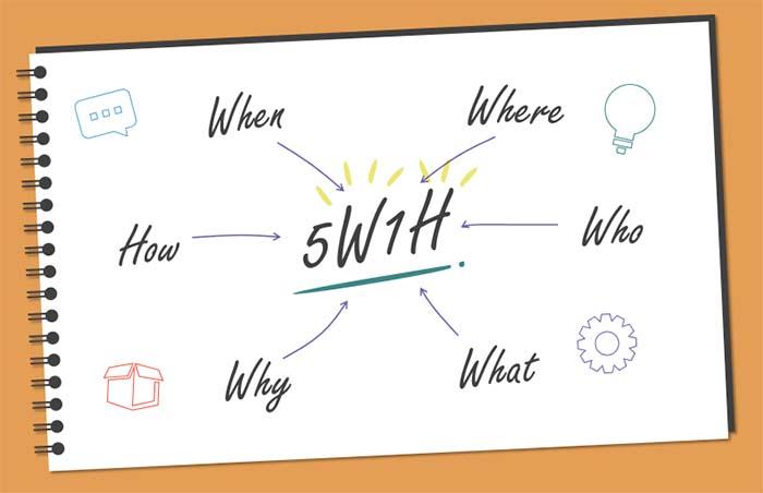 Ý nghĩa của phương pháp 5W1H