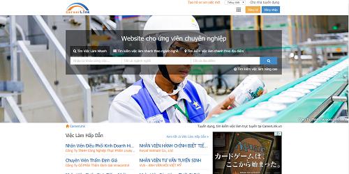 Careerlink.vn chuyên cung cấp hàng nghìn công việc ở mọi lĩnh vực, nghề nghiệp, được phân bố trên từng địa điểm, khu vực khác nhau