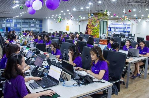 Đội ngũ của Vieclam24h.vn có hơn 100 nhân viên tại hai miền Nam Bắc