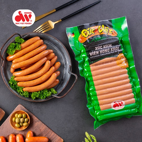 Đức Việt là một trong các thương hiệu xúc xích tại Việt Nam mà bạn không thể bỏ qua