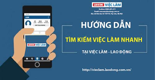 Vieclam.laodong.com.vn là trang website tuyển dụng uy tín hỗ trợ nhà tuyển dụng đăng thông tin đầy đủ, chi tiết, đặc biệt là miễn phí và rất hiệu quả.