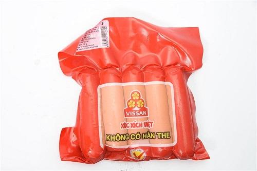 Vissan là một trong các thương hiệu xúc xích tại Việt Nam được nhiều khách hàng lựa chọn.
