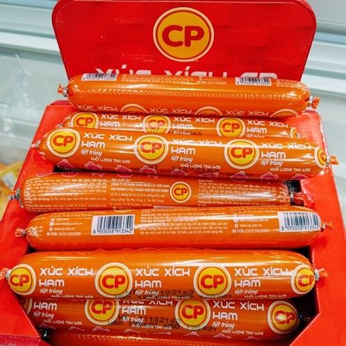 Xúc xích CP được ưa chuộng bởi hương vị tươi ngon, độc đáo.