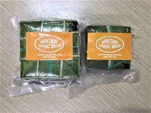 Bánh chưng thương hiệu Ngọc Bích được đóng gói cẩn thận