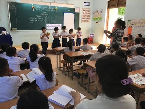 Tạo không gian cho học sinh thể hiện mình