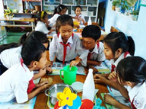 Tổ chức các trò chơi theo nhóm để tăng sự hấp dẫn của môn học