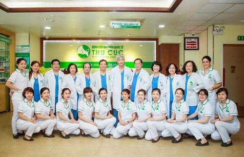 Đội ngũ bác sĩ tại bệnh viện Thu Cúc có chuyên môn cao