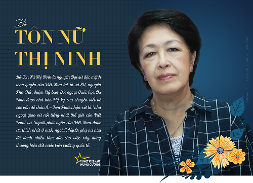 Tôn Nữ Thị Ninh - người đàn bà ngoại giao thép
